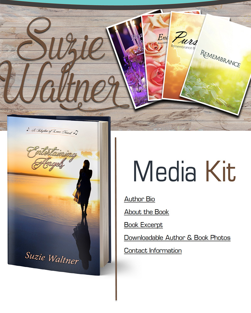 Suzie Waltner Media Kit
